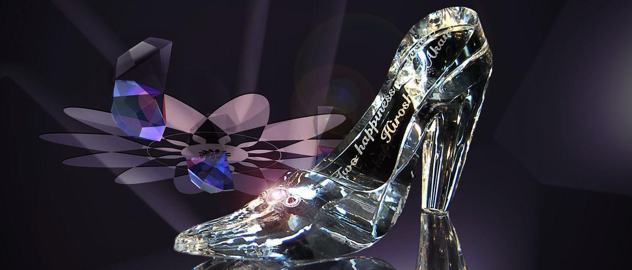 ガラスの靴-M