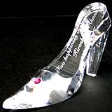 ガラスの靴 クリアー