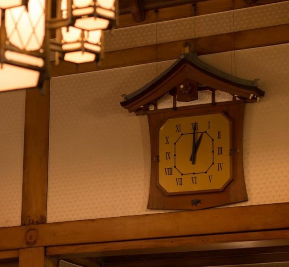 三笠の間 大時計