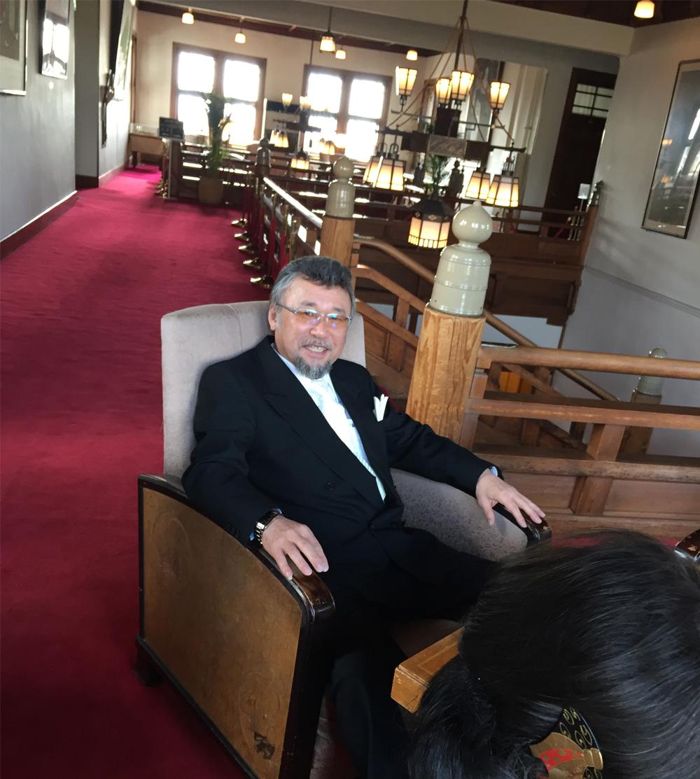 奈良ホテル-ロビー二階-1