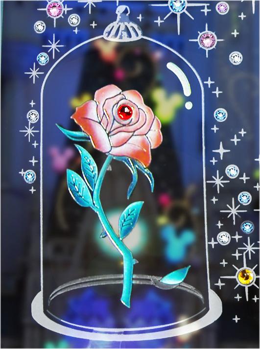 ドームのバラ