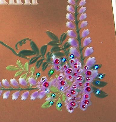 藤の花 アップ